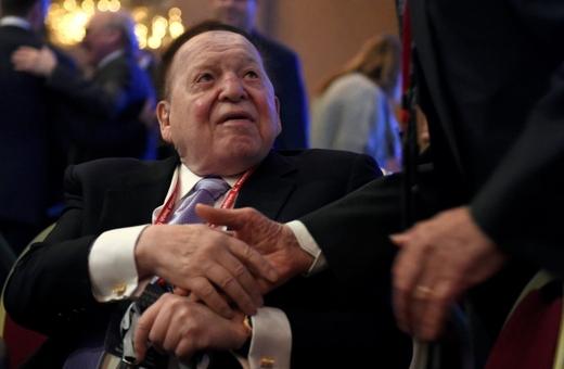 20. Sheldon Adelson