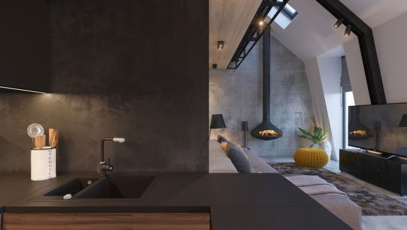 Attic Conversion Creates A Warm, Contemporary Home (With Floor Plans)