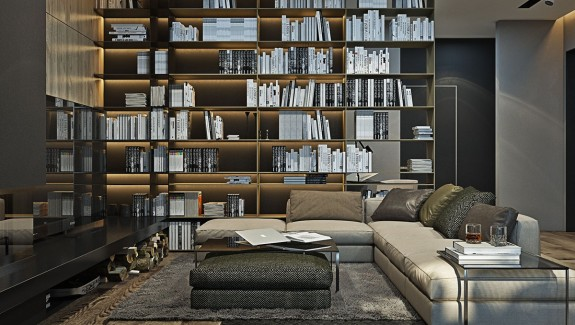 A Suburban Kiev Apartment Design with Luxury (and Budget) in Mind