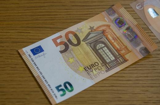 Nová 50-eurová bankovka