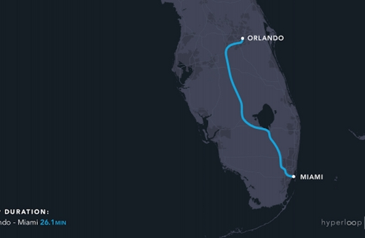 Hyperloop One v USA