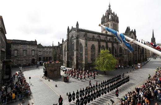 1. Edinburgh, Škótsko